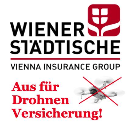 Drohnenversicherung Wiener Städtische 2021