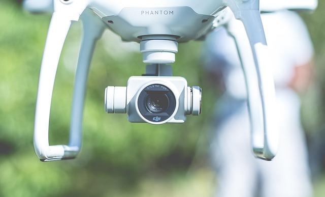 Drohne Kamera Weiss