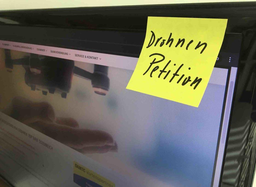 Drohnen Petition